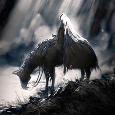 Headless Horseman sketch