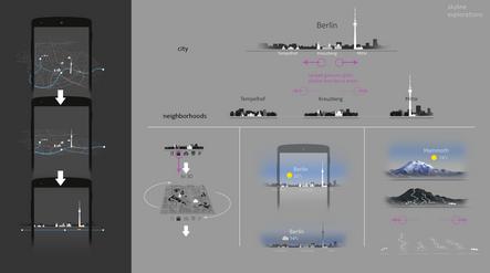 Skyline UX concepts
