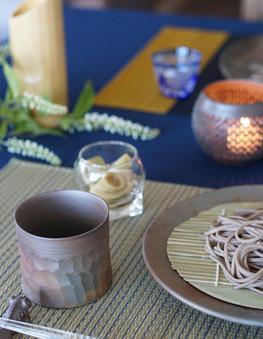 Bizen ware Japanese dining ware