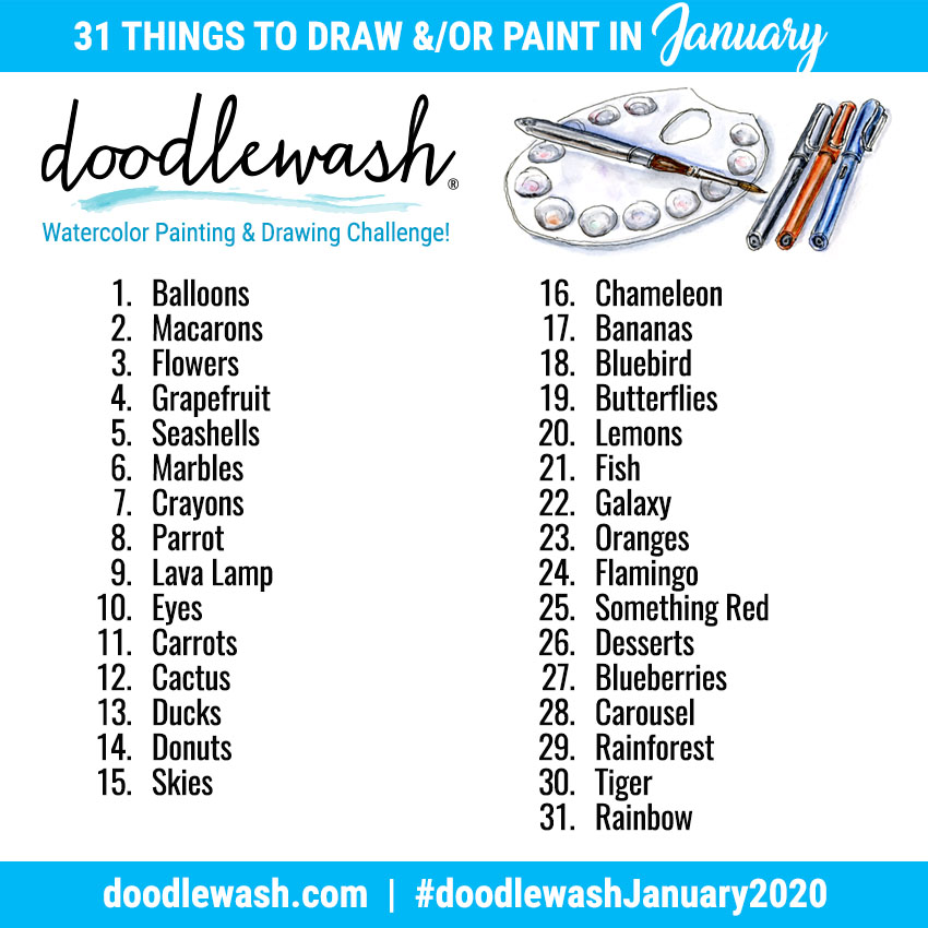 Drawing-Sketching-And-Painting-Prompts-D