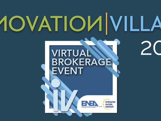 VIRTUAL BROKERAGE EVENT @ INNOVATION VILLAGE 2021