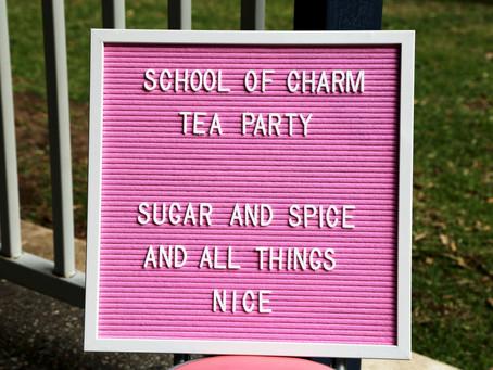 Let's Have a Little Tea Party ...