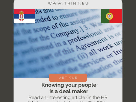 [article] Knowing your people is a deal maker