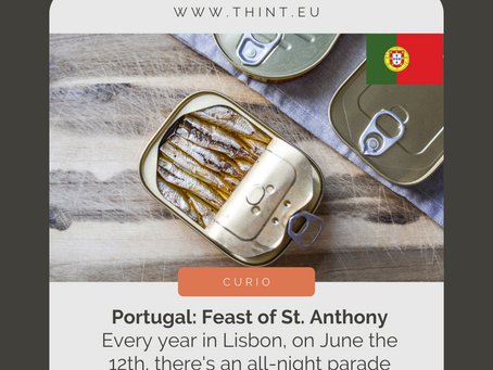 [curio] Portugal & Feast of St. Anthony