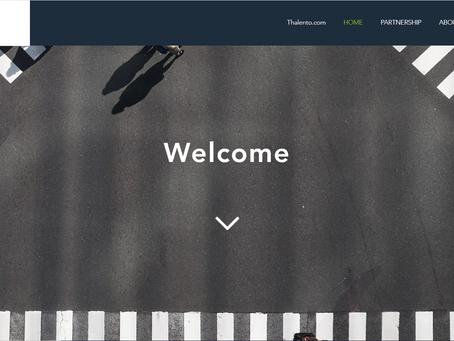 Thalento International website is LIVE!
