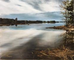 A Lake in Finland in Winter (Feb)