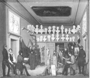 Painting Atelier ca. 1839