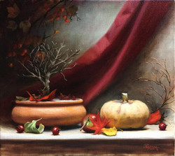 Private Autumn, Rafael Guerra Painting