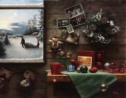 That Time of The Year, Rafael Guerra Painting Pintura