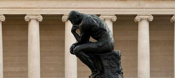 O Pensafor Rodin Rafael Guerra Blog pintura tradicional