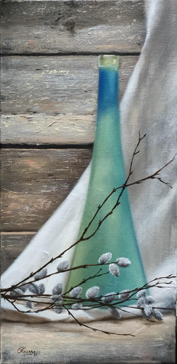 Turquoise Vase, Rafael Guerra