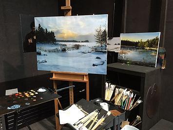 Rafael Guerra painter kuvataiteilja taid