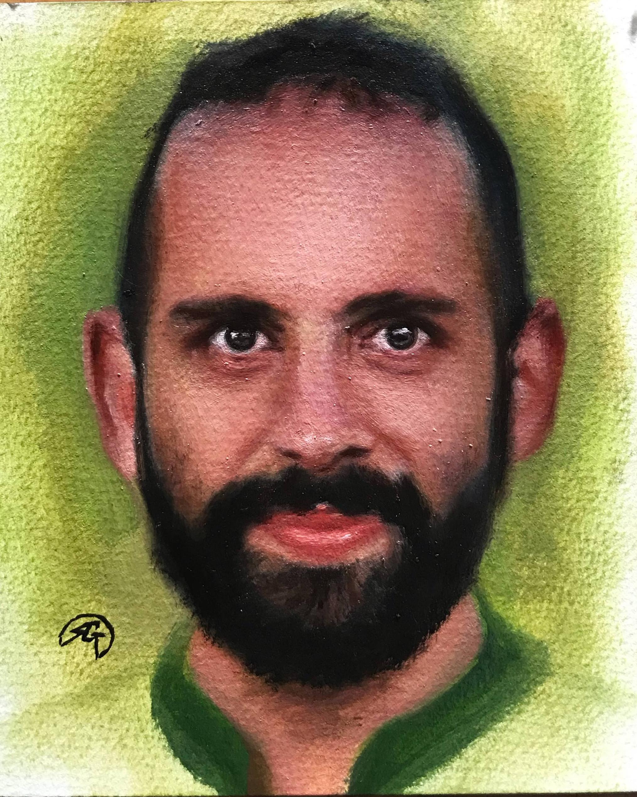 AF 2, Rafael Guerra Painting Pintura