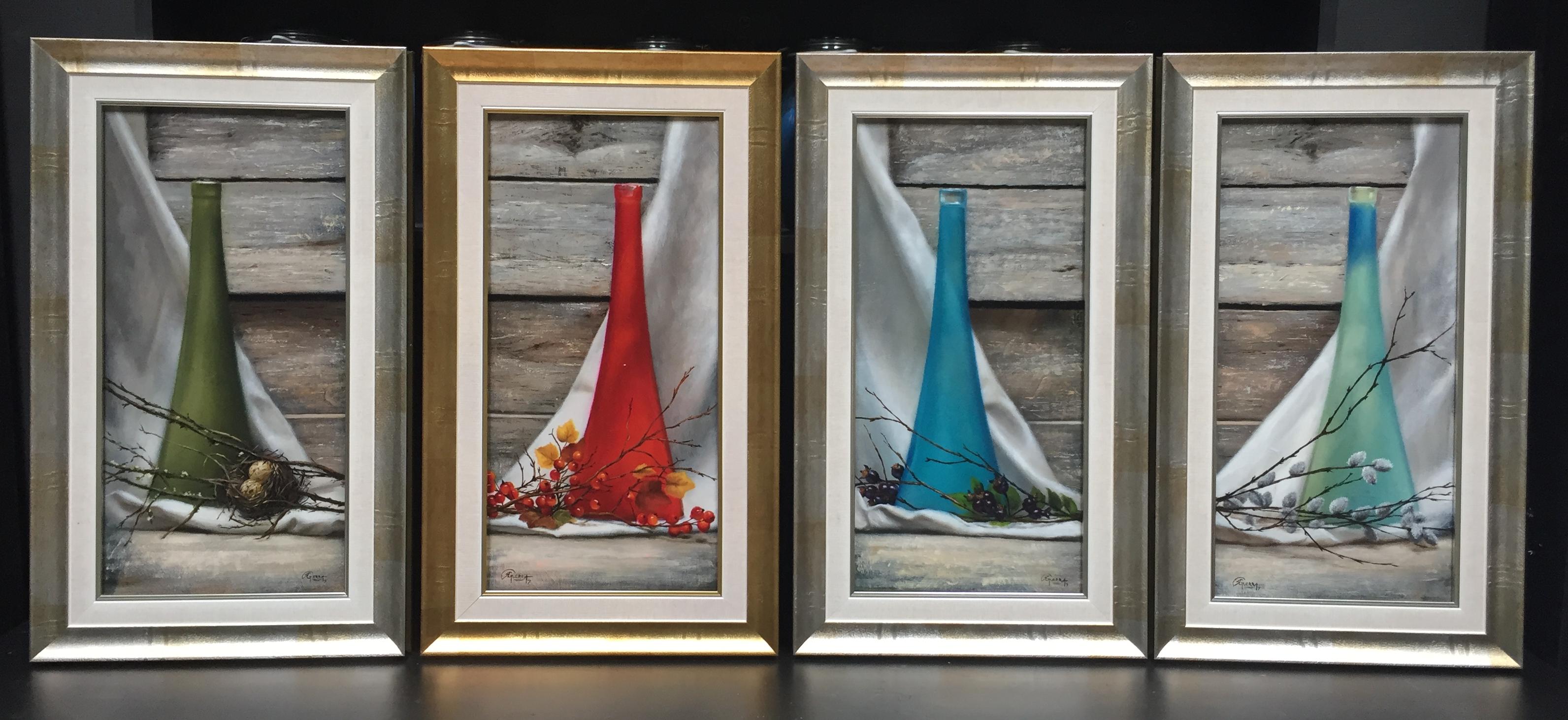Four Little Vases