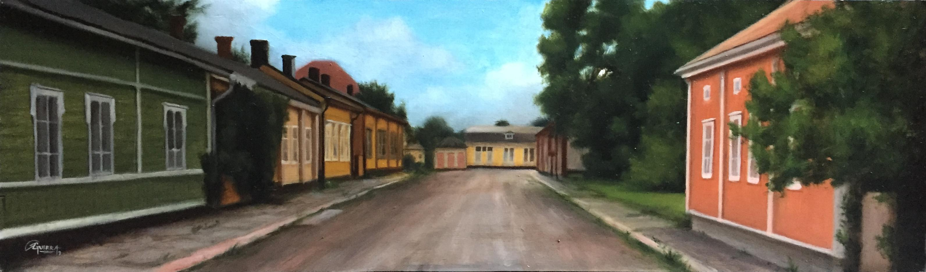 Loviisan Vanhat Talot 1, Rafael Guerra Painting