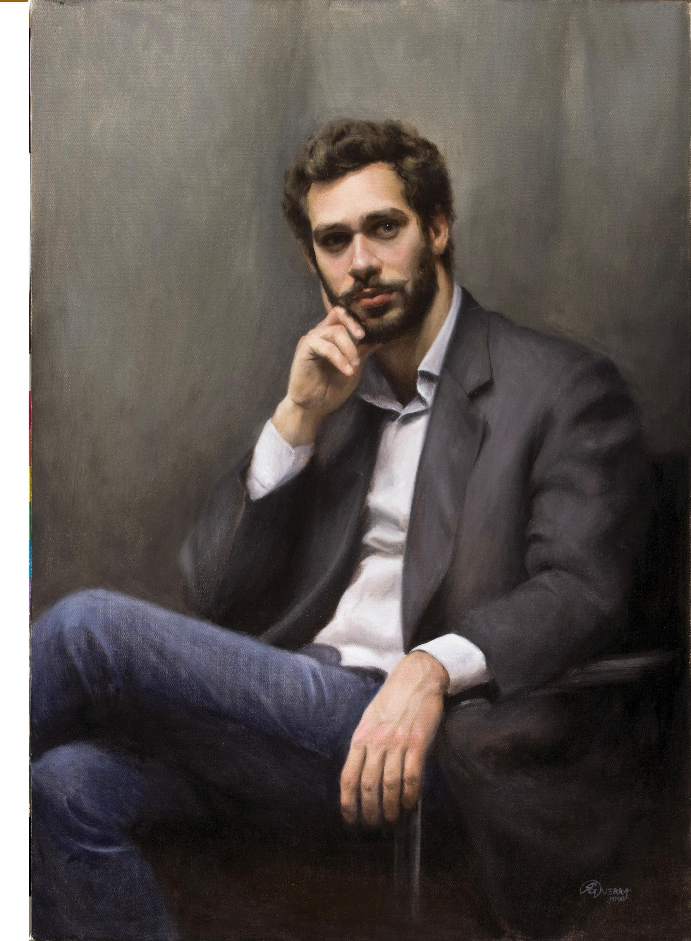 Portrait Painting, Tommaso, Rafael Guerra