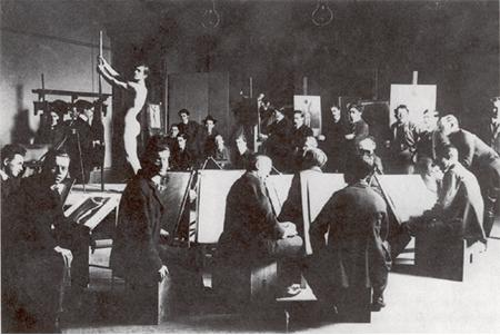 Late 19th to early 20th century atelier