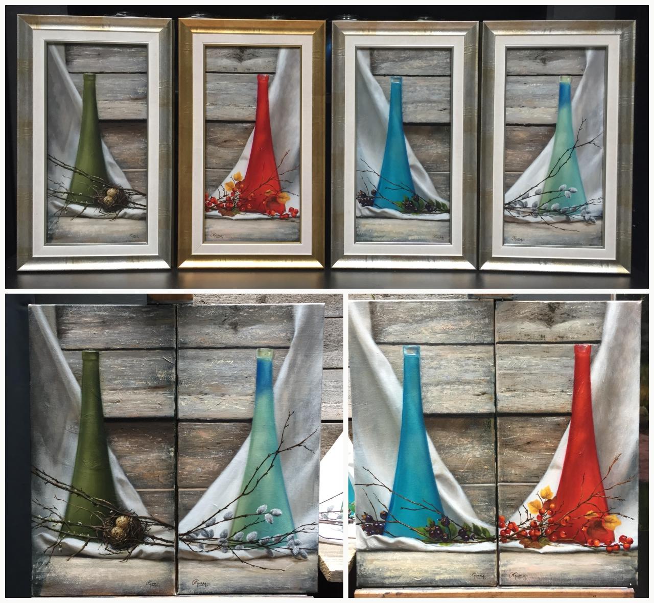 Four Vases, Rafael Guerra