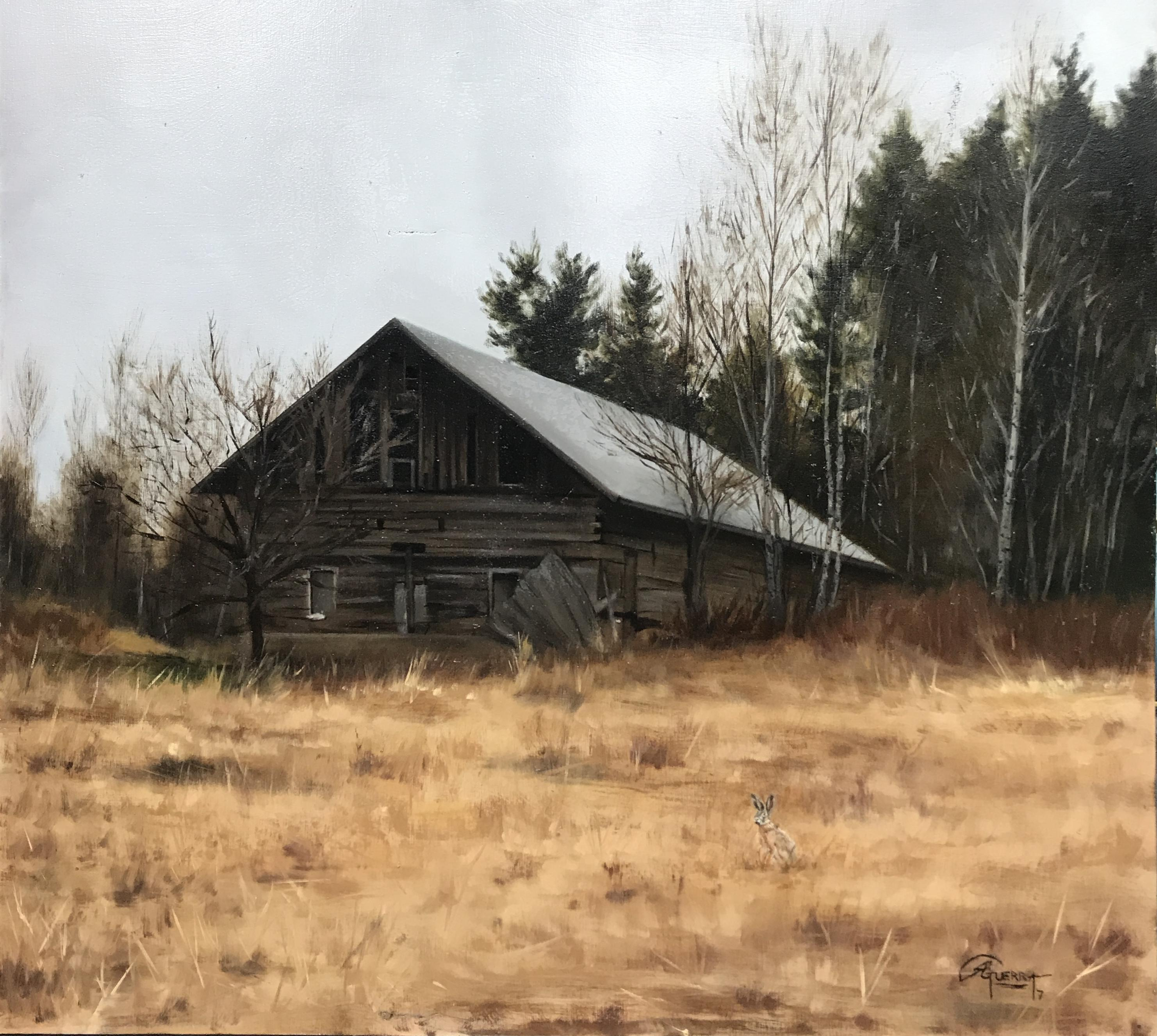 Old Barn in Loviisa, Rafael Guerra Painting