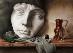 Letter to Miguel, Rafael Guerra Painting Pintura