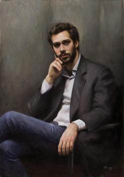 Tommaso, Rafael Guerra Painting Pintura