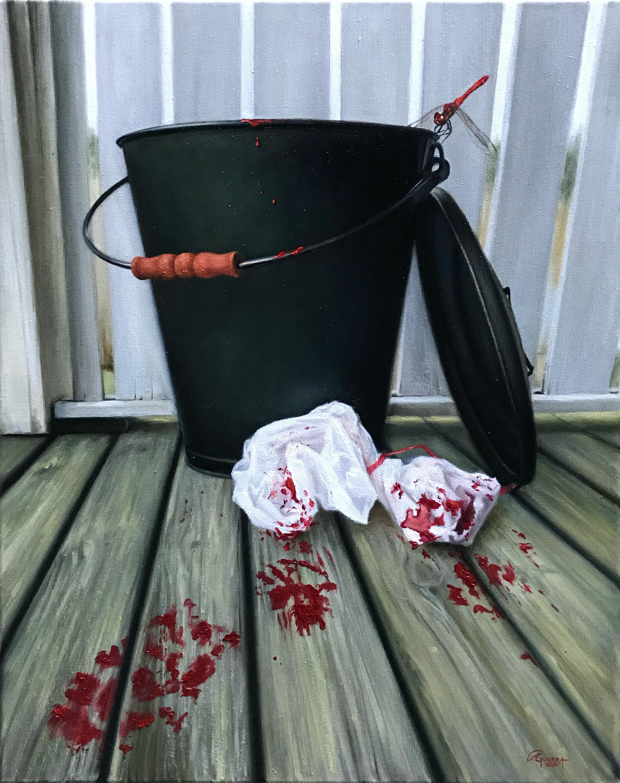The Turn, Rafael Guerra Painting Pintura