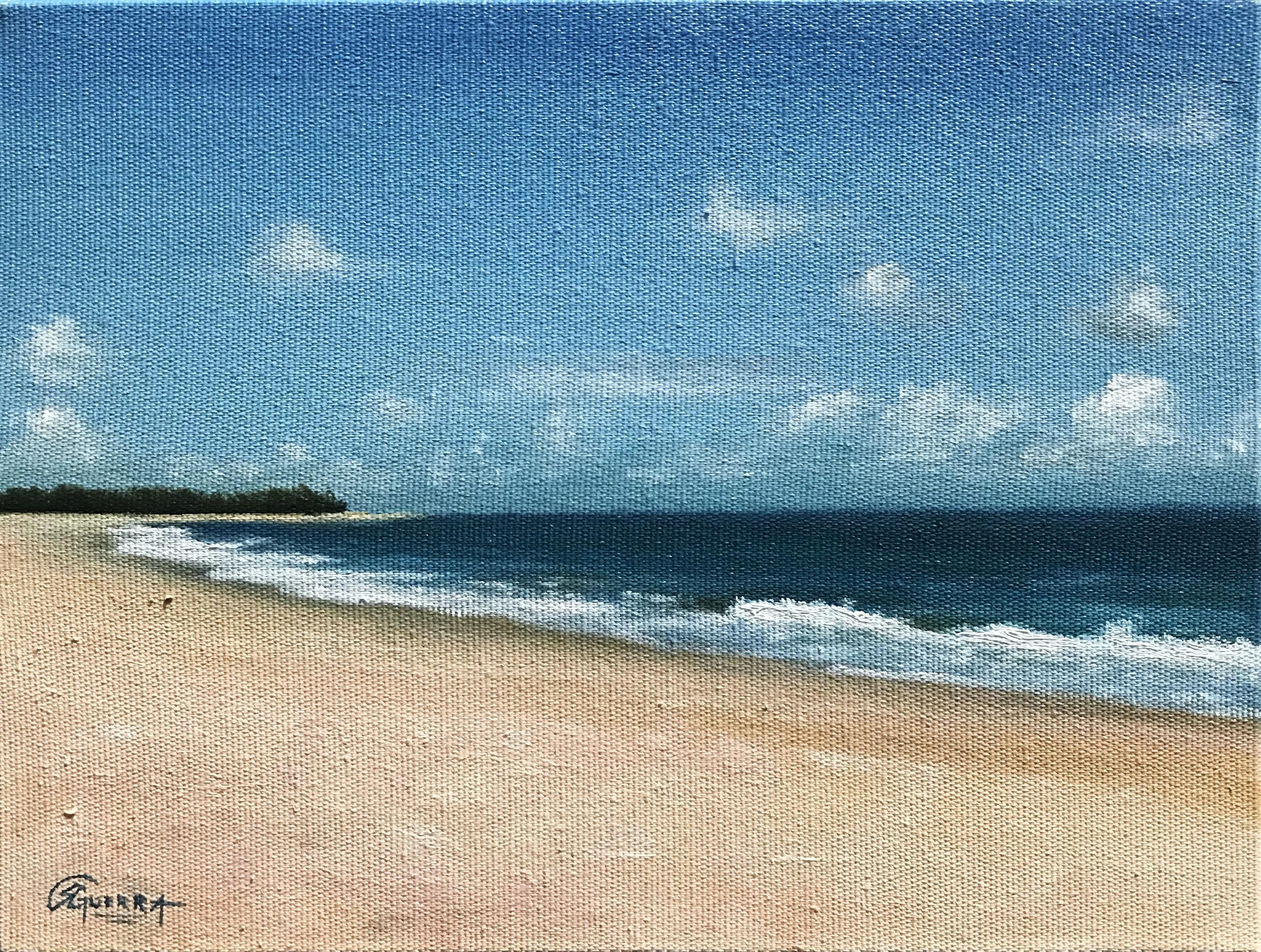 Landscape Painting, Rafael Guerra Pintura