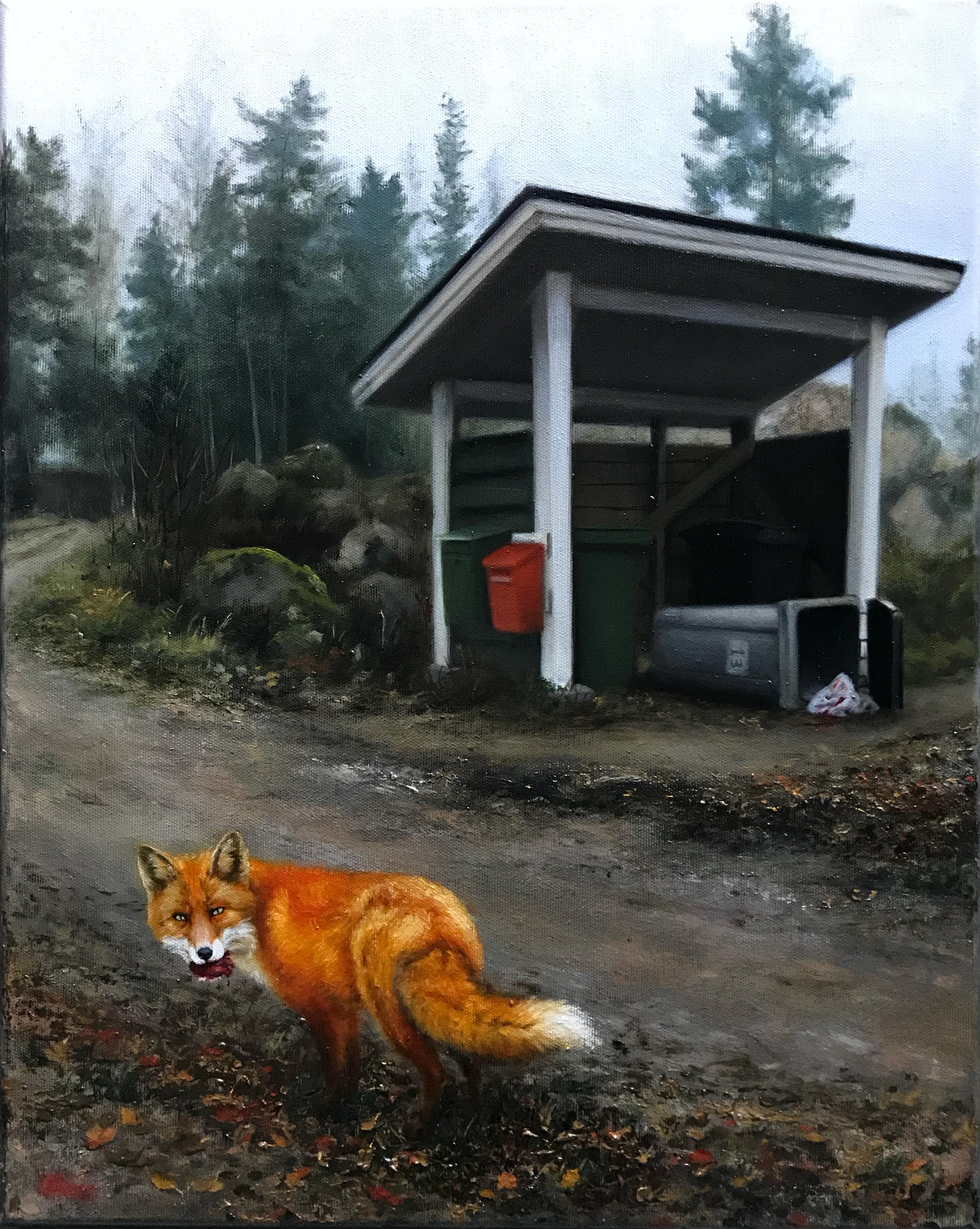 The Deed, Rafael Guerra Painting Pintura