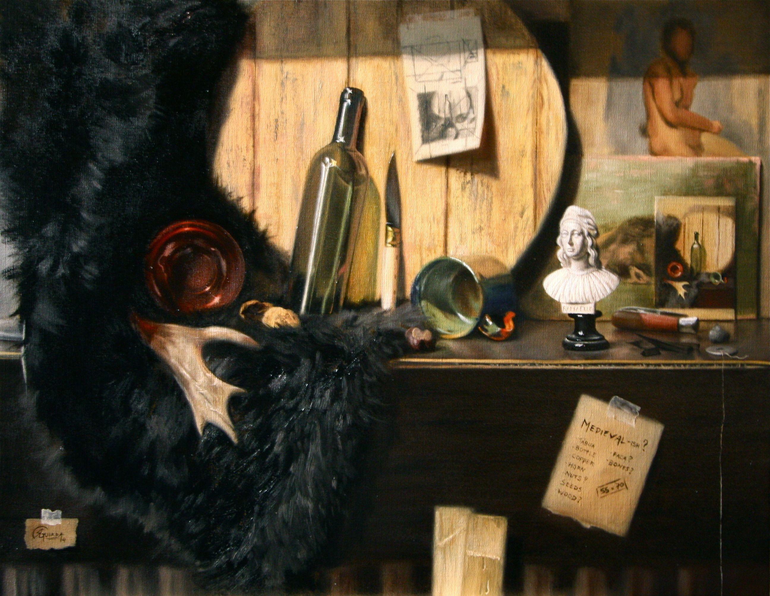 Creating a Still Life, Rafael Guerra Painting Pintura