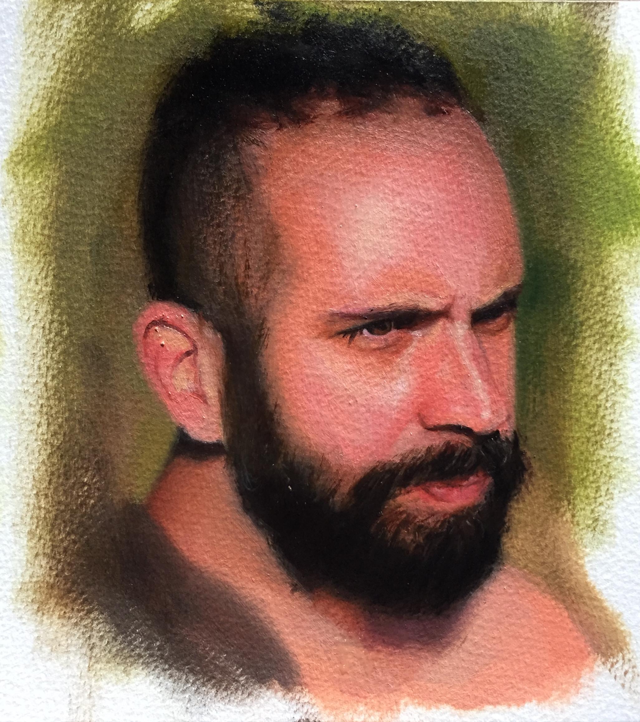 AF 1, Rafael Guerra Painting Pintura