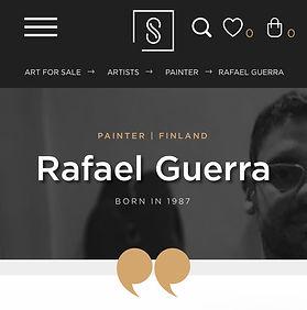 Rafael Guerra Singulart artist artista g