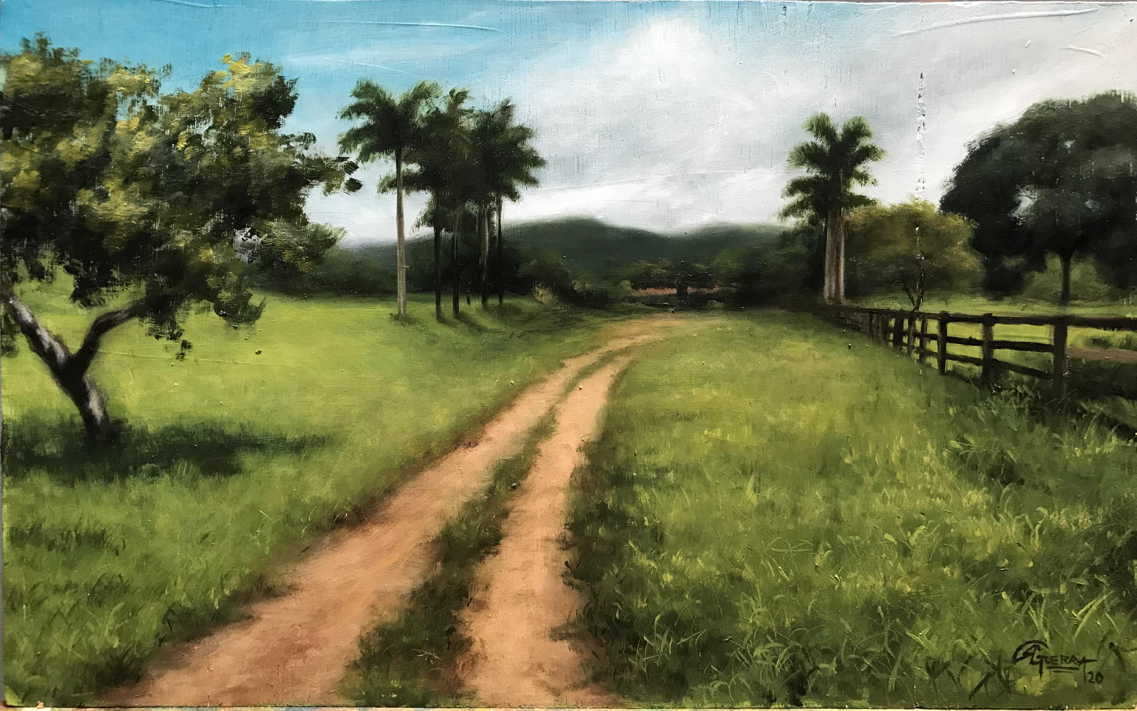 Paisagem Brasileira Rafael Guerra pintura