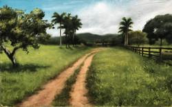Paisagem Brasileira, Rafael Guerra Pintura