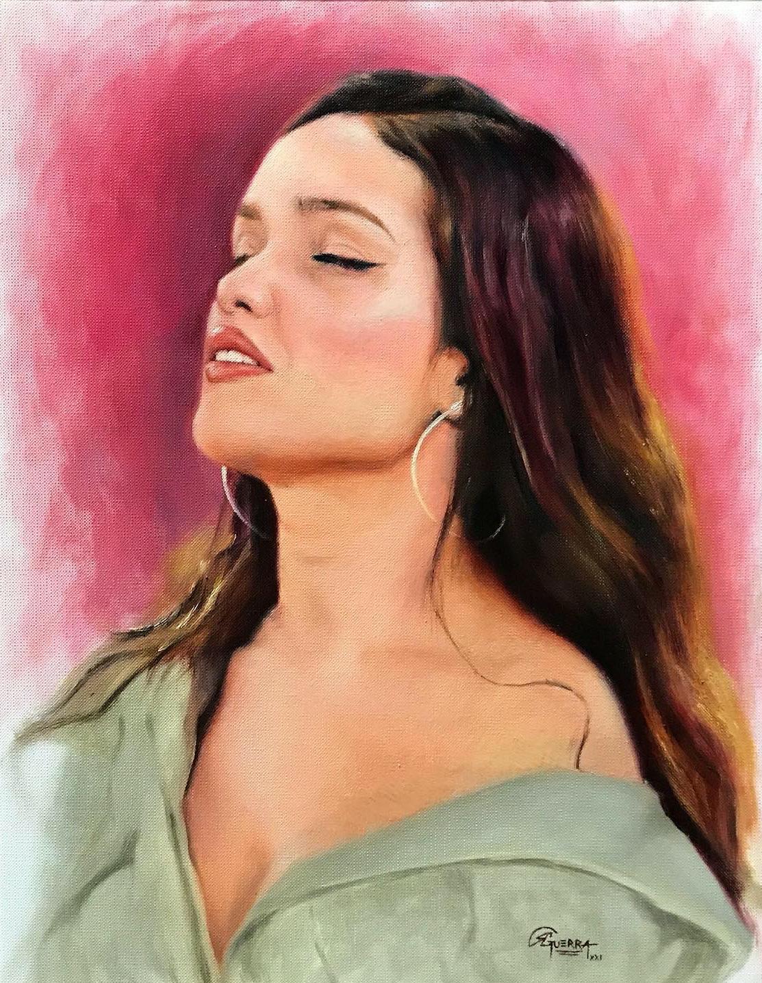 Juliette Freire, Rafael Guerra PinturaRetrato