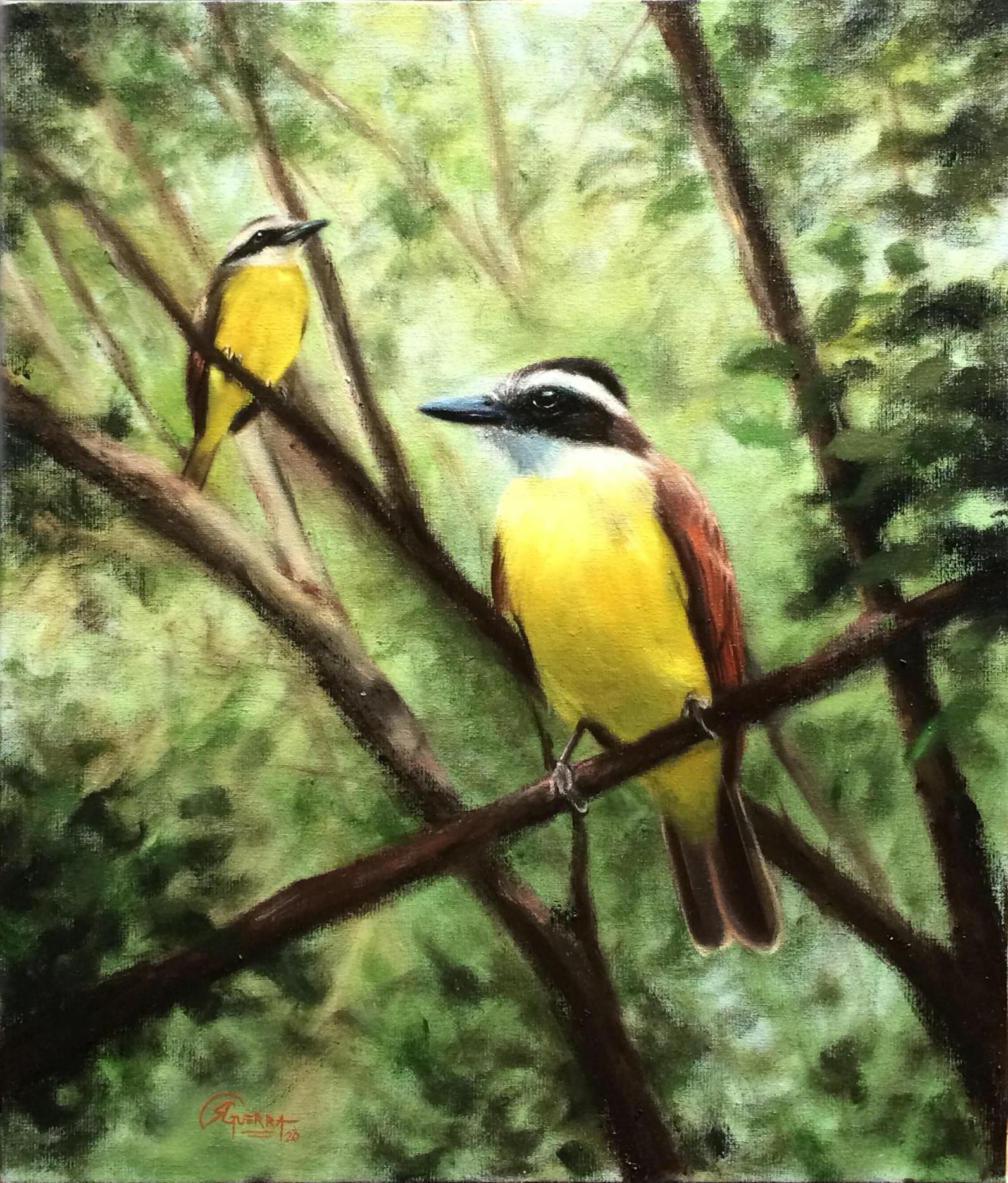 Bem-te-vis, Rafael Guerra Painting Pintura