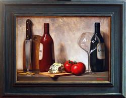 Red or White?, Rafael Guerra Painting Pintura