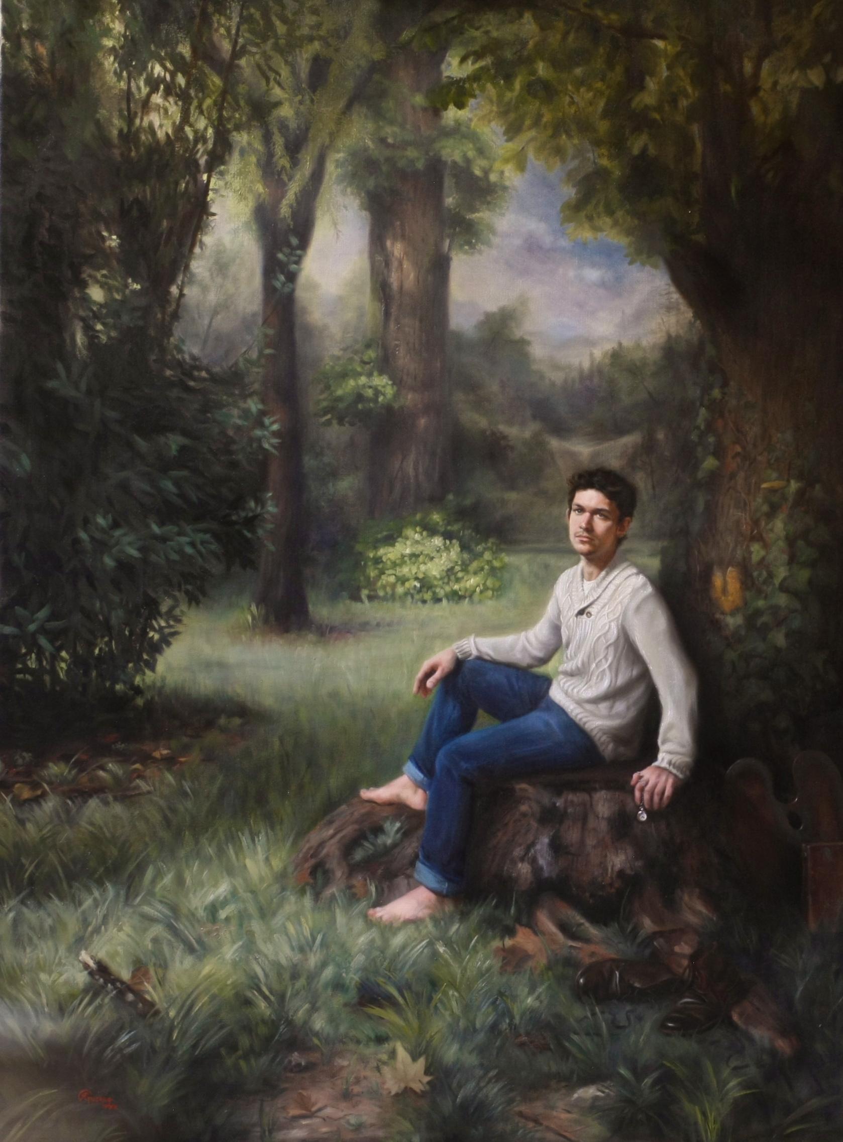 Si Vis Pacem Para Bellum (2), Rafael Guerra Painting Pintura