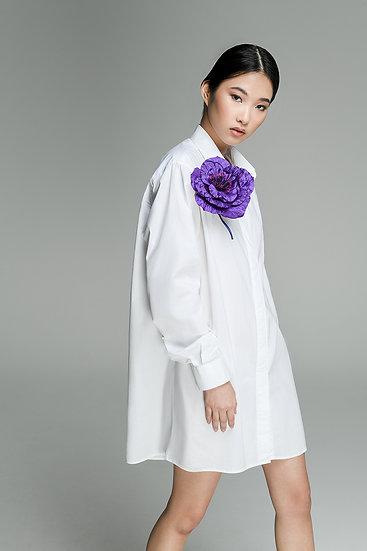 Camicia Magnetica, White Dress