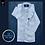 Thumbnail: Camicia Magnetica per bambino, lino, celeste, a partire da