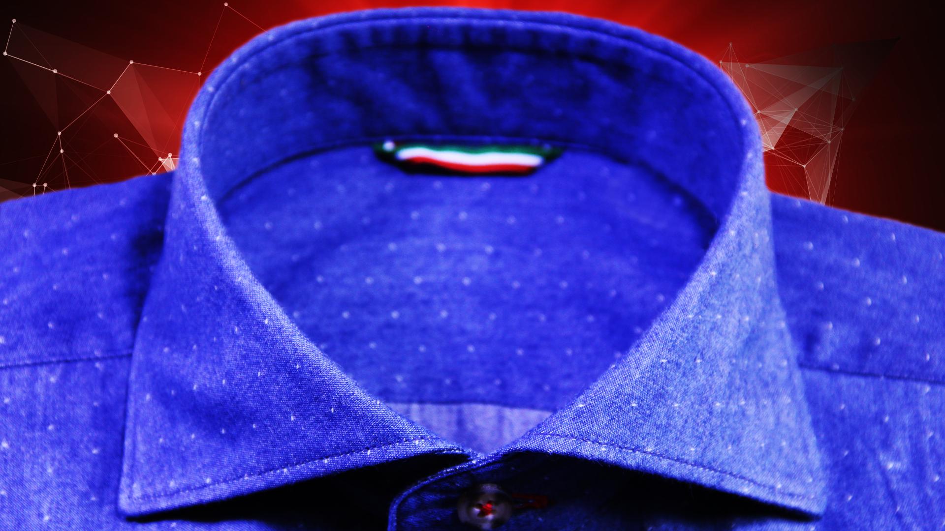 Pois dress shirt