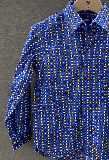 Camicia Magnetica/yellow paradise