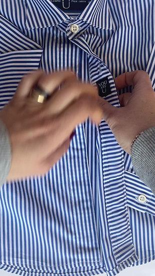 Camicia Magnetica per bambino, cotone, riga,   a partire da