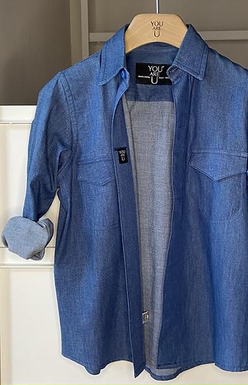 Camicia Magnetica/blu jeans