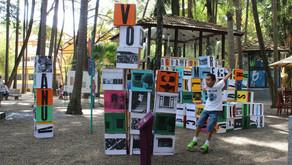 ENCAIXEVOLANTEPALAVRA - Espaço de Leitura Parque da Água Branca, São Paulo/SP, 2014