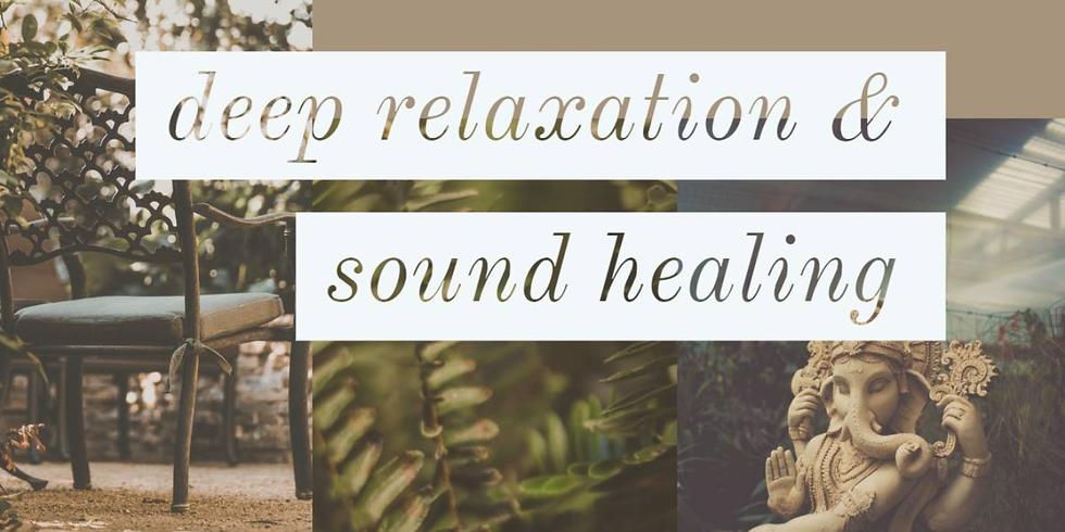 DEEP RELAXATION & SOUND HEALING mit Bruni Gabriel & Tanja Iten