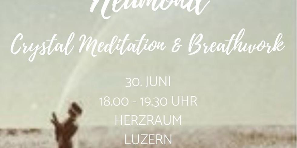 Crystal Meditation & Breathwork mit Manuela
