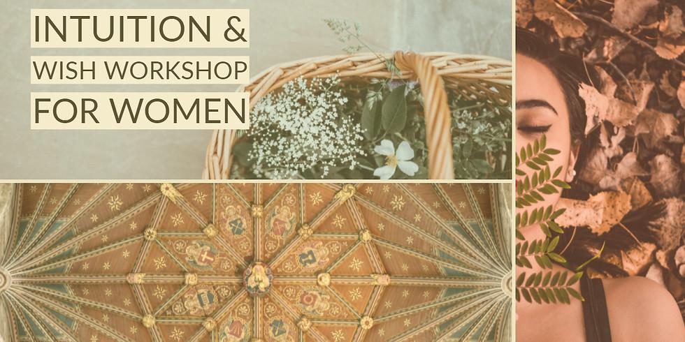 INTUITION & WISH WORKSHOP FOR WOMEN mit Tanja Iten