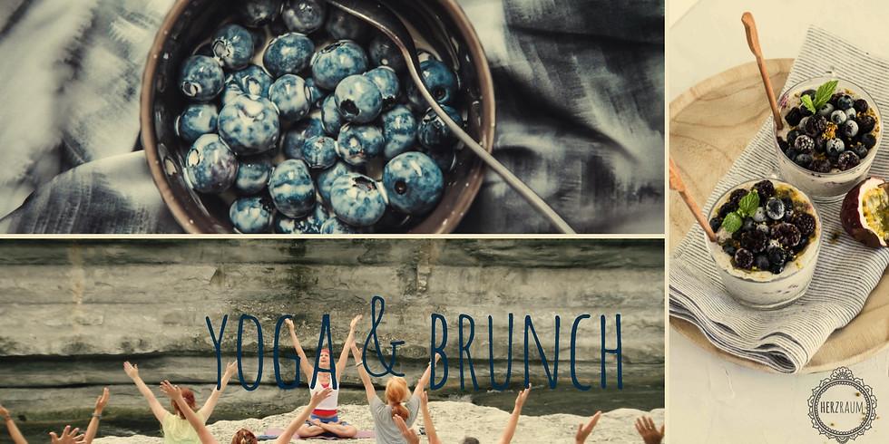 Yoga & Brunch am Samstag, 23. Juni 2018 - Summer Edition