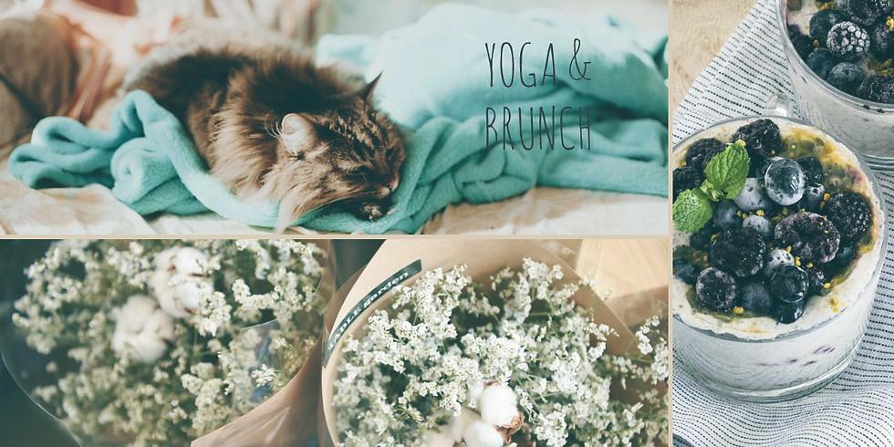 Yoga & Brunch am Samstag, 1. September - Late Summer Edition