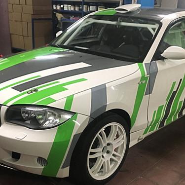 Autobelettering BMW